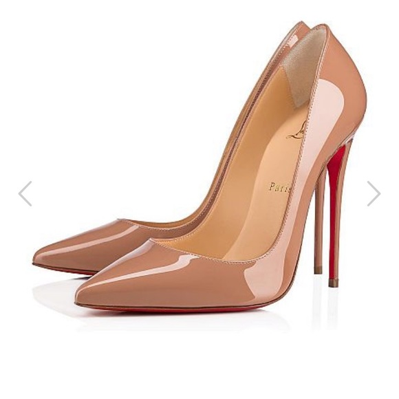 499d44abd0aa Authentic Christian Louboutin So Kate Nude 120mm
